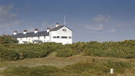 The Coastguard Cottages at Dunwich Heath and beach - a new £20,000 project is uncovering the beauty