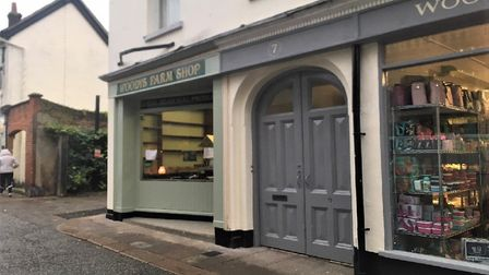 Woodys farm shop is set to open next month, providing a welcome addition to the Thoroughfare in Wood