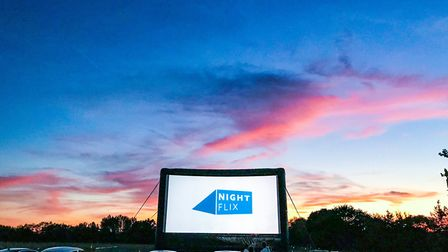 Nightlfix is bringing the UK's biggest inflatable drive-in cinema to Colchester. Picture: NIGHTFLIX