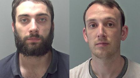 Robert Duke, 36 and Kyle Haggerty, 27 were jailed for a total of 16 years at Ipswich Crown Court. Pi
