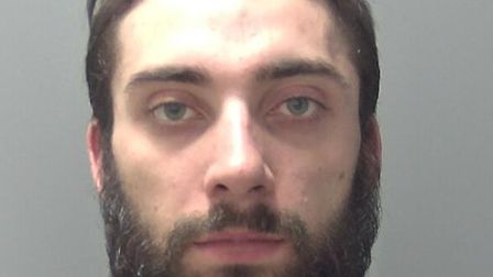 Kyle Haggerty, 27, of no fixed address, was jailed for eight years at Ipswich Crown Court for robbin