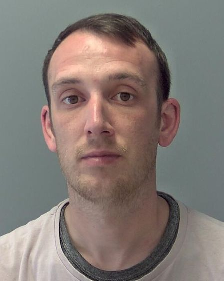 Robert Duke, 36, of Broad Road, Bacton, who was jailed for seven years and ten months for robbing a