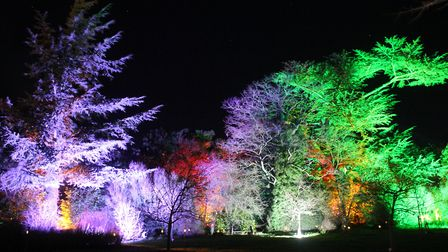 Helmingham Hall's illuminated garden trail will provide visitors with a magical experience in the ru