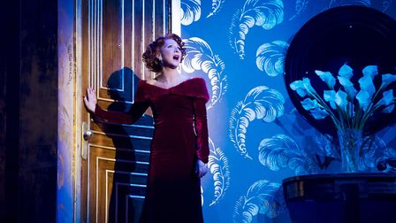 Bonnie Langford in the West End show 42nd Street which is being screened in cinemas this weekend Pho