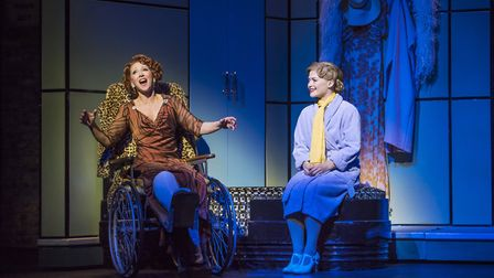 Bonnie Langford, Clare Halse in the West End show 42nd Street which is being screened in cinemas thi
