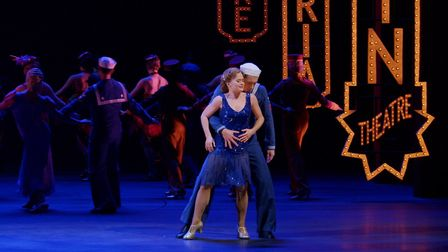 Clare Halse, Philip Bertioli in the West End show 42nd Street which is being screened in cinemas thi