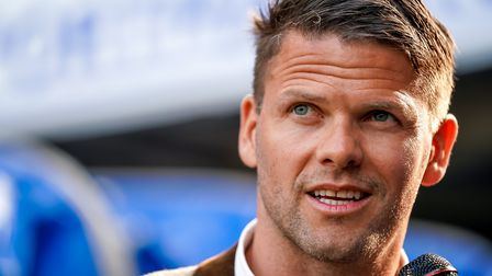 Former Town star Hermann Hreidarsson is the new assistant boss at Southend. Picture: STEVE WALLER