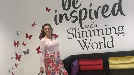 Tracy Arnold will now be running her own Slimming World group in Colchester. Picture: SLIMMING WORLD