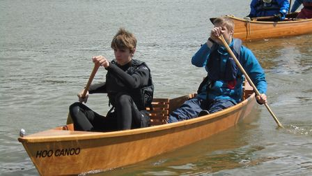Just42 will be holding bids for this canoe which has already drawn lots of interest within the boati