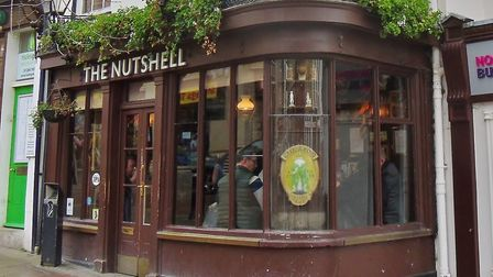 The Nutshell Pub is the smallest pub in the UK Photo: Peter Bash