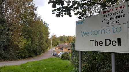 The Dell Care Home in Great Cornard is closing in early December giving residents just over a month