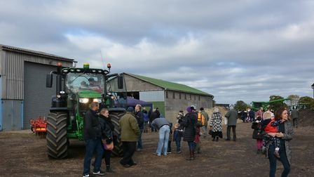 Machinery on display at Pattocks Farm Open Day and Christmas Market, which is set to return this ye