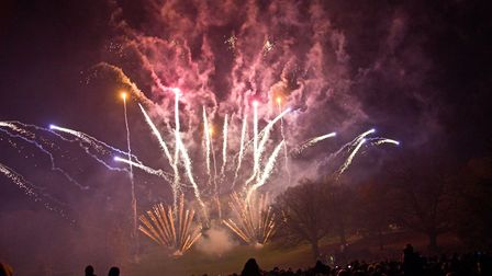 Ipswich Christchurch Park Fireworks return this weekend. Picture: PETER CUTTS