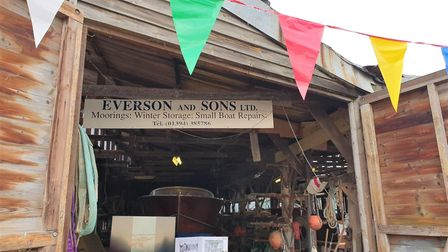 Eric Reynolds took over Eversons Boatyard in April promising to keep the local boating community ali