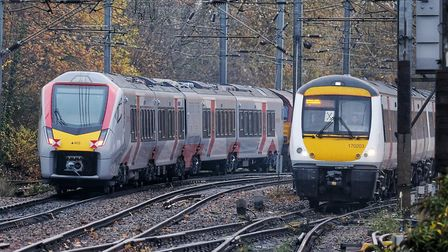 The existing Turbostar trains (right) are being sent away from the region before their replacement S