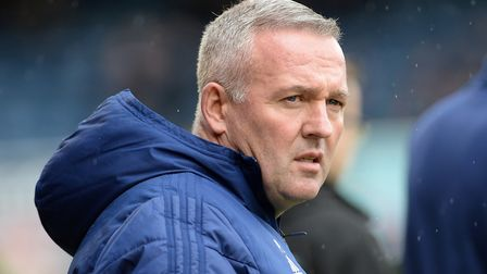 Ipswich Town manager Paul Lambert spoke to fans at Thursday night's Supporters' Club AGM. Photo: Pag