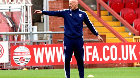 Ipswich Town fitness coach Jim Henry Picture: Ross Halls