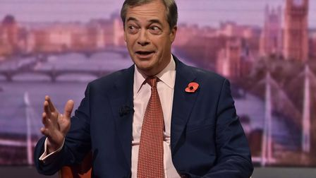 Nigel Farage has ruled out standing in the General Election in Clacton - or anywhere else. Picture: