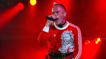 The lead singer of Prodigy, Keith Flint who died in march 2019. Picture: Maurice McDonald