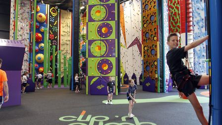 Ipswich Clip 'n' Climb is a perfect day out for the kids Picture: PAUL NIXON PHOTOGRAPHY