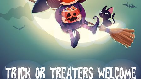 Halloween posters are available from the Suffolk police website Picture: SUFFOLK CONSTABULARY