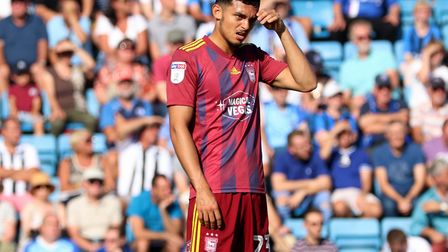 Andre Dozzell has failed to make a consistent impact at Town Picture: ROSS HALLS