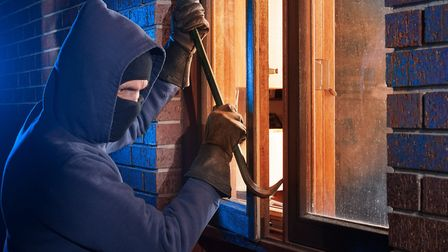 A victim has been seriously injured after a burglar tried to gain entry to his home overnight. Pictu