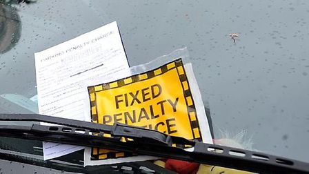 Parking enforcement powers will transfer from police to councils in Suffolk in 2020. Picture: PHIL M