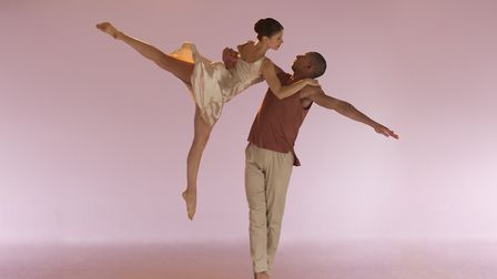 Voices and Light Footsteps, Jenny Hayes and Joshua Harriette, members of the Richard Alston Dance Co