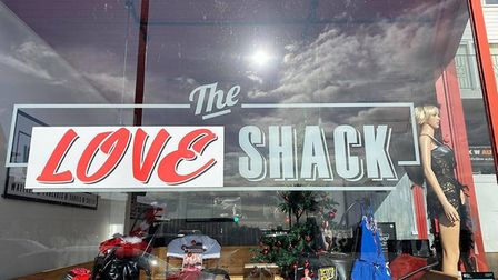 The Love Shack would replace the Waffle Shack in Undercliff Road West, Felixstowe Picture: ALAN BOYL
