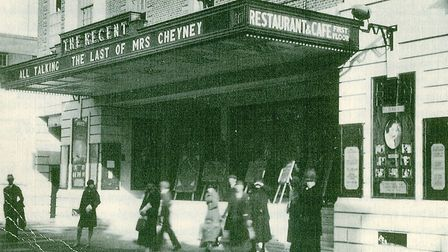 The outside of the Ipswich Regent, opening week, 1929. Photo: Contributed