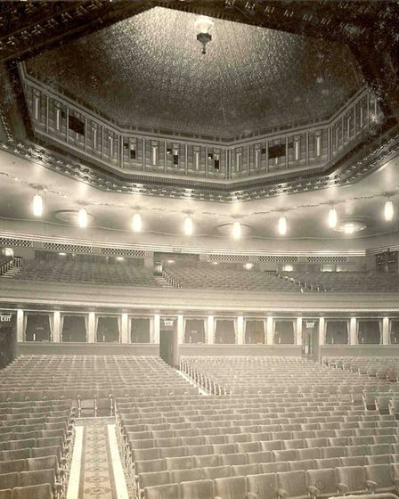 The Regent theatre auditorium when it opened on Monday 4th November 1929 Photo: Archant