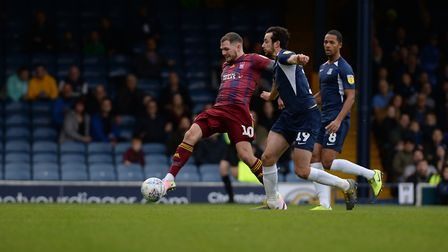 James Norwood scores during the first half Picture Pagepix Ltd