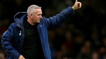 Today is Paul Lambert's first anniversary in charge of Ipswich Town. Photo: PA