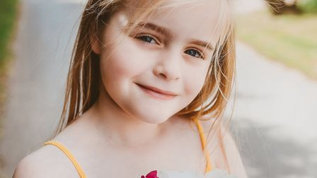 Freya Burnside's life could be transformed by the new drug for cystic fibrosis. Picture: ANNA LIPSKA