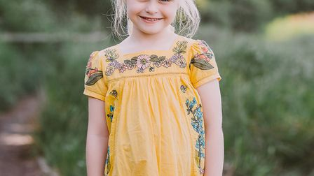"""Freya Burnside has a daily fight against cystic fibrosis but is described by her parents as a """"wonde"""