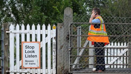 The crossing has been earmarked for closure since 2016 Picture: SU ANDERSON