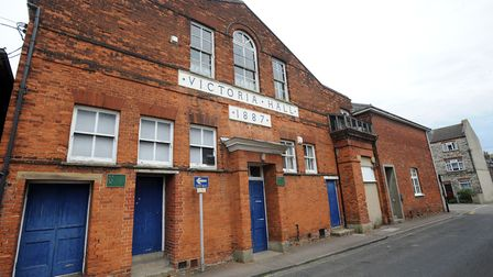 The Victoria Hall/Conservative Club in Sudbury - under the proposals this frontage would be preserve