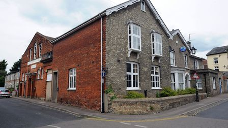 The Victoria Hall/Conservative Club in Sudbury Picture: PHIL MORLEY