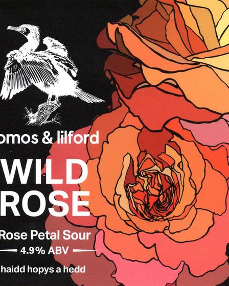 3rd place in the Standard Label contest - Tomos and Lilford Brewery - Wild Rose Picture: LABOLOGIST