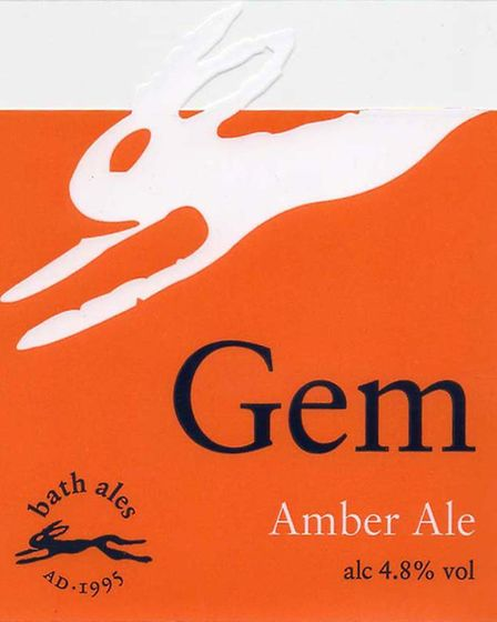 1st place in the Set of Labels contest - Bath Ales. Gem was one of a set of four Picture: LABOLOGIST