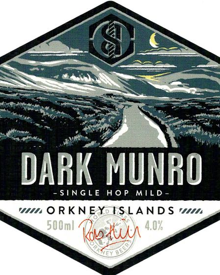 2nd place in the Set of Labels contest - Black Storm Brewery. Dark Munro was one of a set of three P