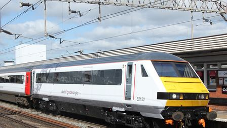 Broken down freight train between Colchester and Marks Tey causing disruption. Picture: ARCHANT