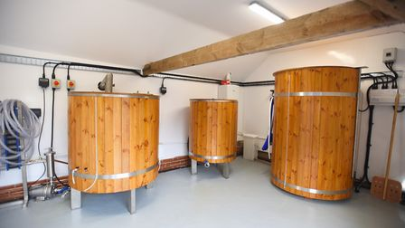 The pub's brewery is also included in the sale Picture: GREGG BROWN
