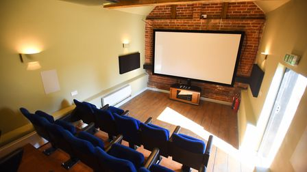 The Butley Oyster opened 'Suffolk's smallest cinema' in September 2017 Picture: GREGG BROWN