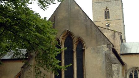 Criminal damage has been caused at Exning Church. Picture: Sarah Lucy Brown