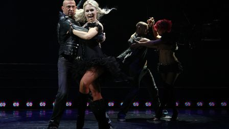 Strictly Come Dancing star Kristina Rihanoff is due to visit Bury St Edmunds in January Picture: YUI