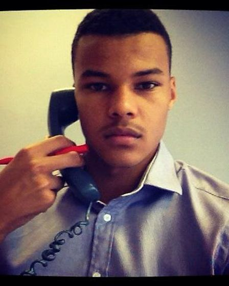 Ipswich Town's Tyrone Mings posted this picture of himself in his former job as a mortgage broker
