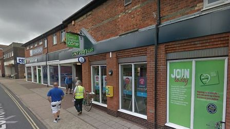 Police were called to the Co-op in Sizewell Road, Leiston, to reports of a burglary Picture: GOOGLE