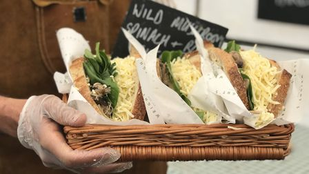 Wright's Caf� is the new cheese toastie cafe in Bury St Edmunds. Picture: Victoria Pertusa